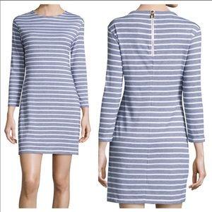 Sail To Sable Textured Nautical Striped Dress